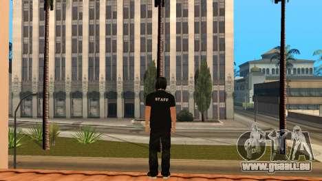 Hochwertige Haut Personal für GTA San Andreas dritten Screenshot