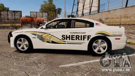 Dodge Charger RT 2012 Police [ELS] für GTA 4 linke Ansicht