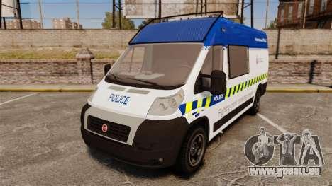 Fiat Ducato Manchester Police [ELS] für GTA 4