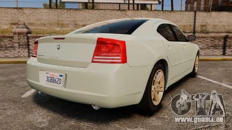 Dodge Charger RT Hemi 2007 für GTA 4 hinten links Ansicht