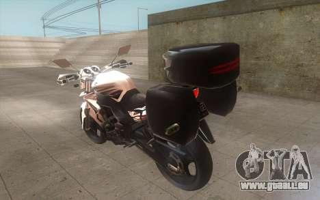 Yamaha V-ixion 150cc 2012 Touring Edition pour GTA San Andreas laissé vue
