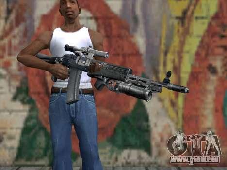 AK-47 d'un harceleur pour GTA San Andreas troisième écran