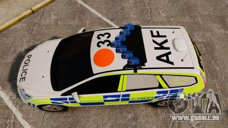 Ford Focus Estate 2009 Police England [ELS] für GTA 4 rechte Ansicht