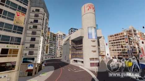 Emplacement de Shibuya pour GTA 4 cinquième écran