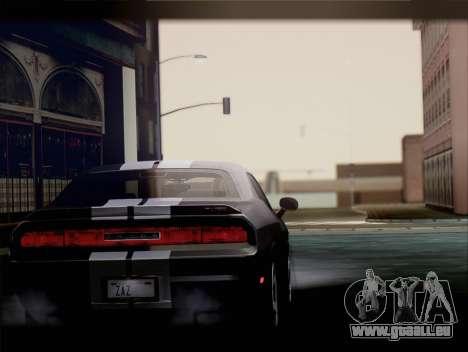 Dodge Challenger SRT8 2012 HEMI für GTA San Andreas rechten Ansicht