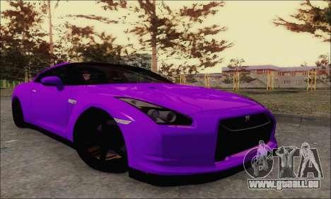 Nissan GT-R Spec V pour GTA San Andreas vue arrière
