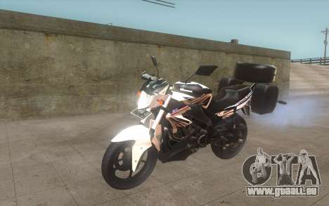 Yamaha V-ixion 150cc 2012 Touring Edition für GTA San Andreas