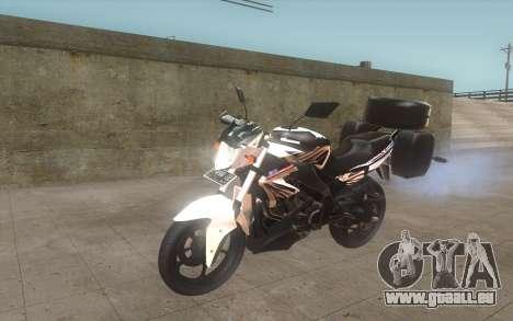 Yamaha V-ixion 150cc 2012 Touring Edition pour GTA San Andreas