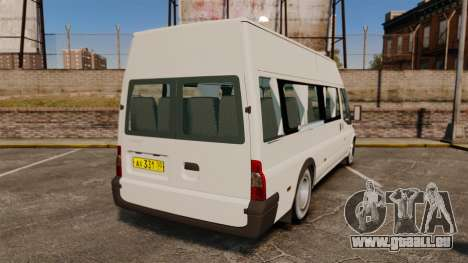 Ford Transit Passenger pour GTA 4 Vue arrière de la gauche