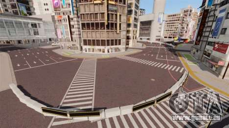 Emplacement de Shibuya pour GTA 4 quatrième écran