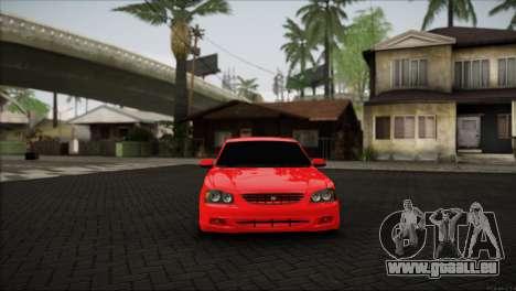 Hyundai Accent pour GTA San Andreas sur la vue arrière gauche