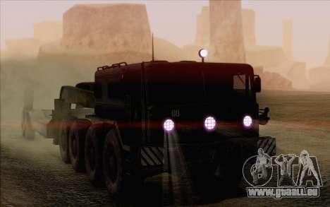 MAZ-535 für GTA San Andreas obere Ansicht