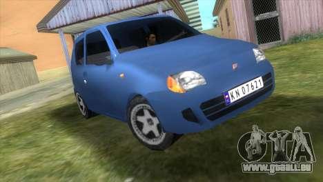 Fiat Seicento für GTA Vice City