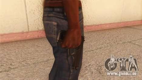 Beretta 92 FS pour GTA San Andreas troisième écran