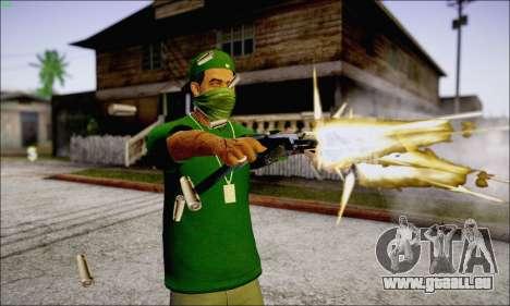 Lamar Davis GTA V pour GTA San Andreas