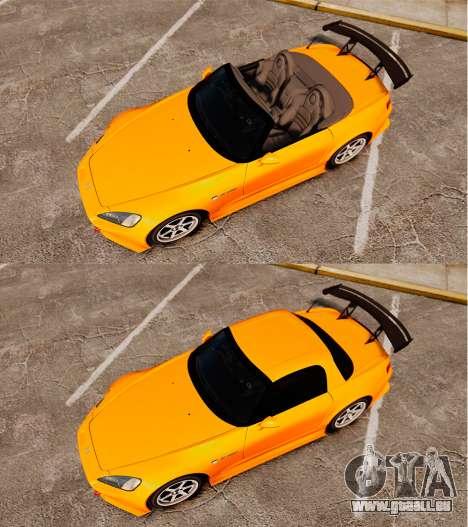 Honda S2000 (AP1) pour GTA 4 est un droit