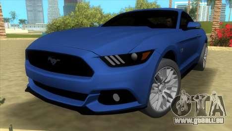 Ford Mustang GT 2015 für GTA Vice City