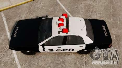 GTA V Vapid Police Cruiser LSPD für GTA 4 rechte Ansicht
