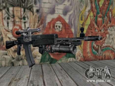 AK-47 d'un harceleur pour GTA San Andreas