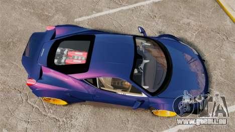 Ferrari 458 Italia Liberty Walk pour GTA 4 est un droit