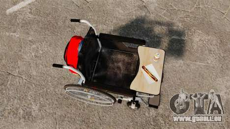Funny Wheelchair pour GTA 4 est un droit