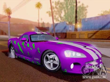 Dodge Viper SRT-10 Coupe für GTA San Andreas
