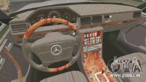 Mercedes-Benz S600 W140 pour GTA 4 Vue arrière