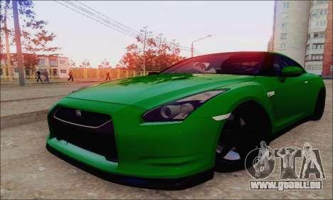 Nissan GT-R Spec V pour GTA San Andreas