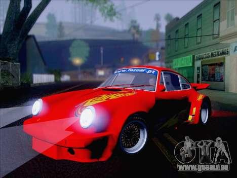 Porsche 911 RSR 3.3 skinpack 6 pour GTA San Andreas vue de droite