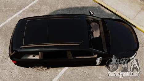 Audi Q7 Unmarked Police [ELS] pour GTA 4 est un droit