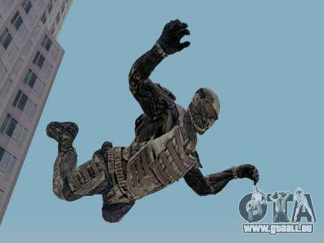 Nano-combinaison coréen de Crysis pour GTA San Andreas troisième écran