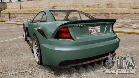 GTA V Benefactor Feltzer pour GTA 4 Vue arrière de la gauche