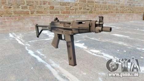 Taurus-Maschinenpistole MT-40 für GTA 4