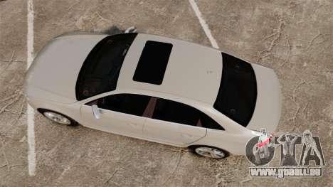 Audi S4 2010 pour GTA 4 est un droit