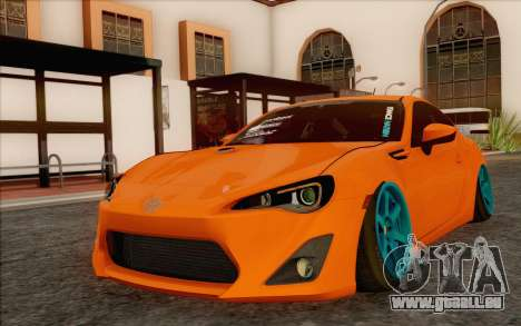 Toyota GT86 Lowstance pour GTA San Andreas