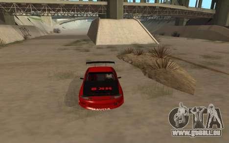 Toyota Soarer pour GTA San Andreas vue de droite