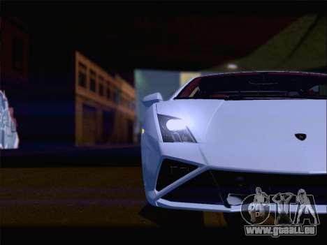 Lamborghini Gallardo 2013 für GTA San Andreas Innen