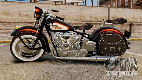 Harley-Davidson Knucklehead 1947 für GTA 4 rechte Ansicht