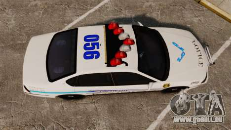 Chevrolet Impala 2003 LCPD pour GTA 4 est un droit