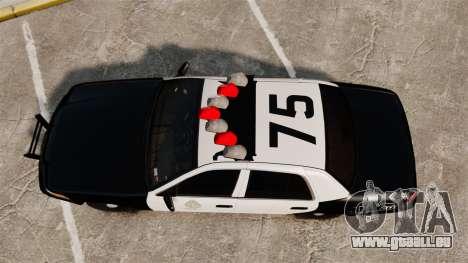 Ford Crown Victoria 1999 LAPD & GTA V LSPD pour GTA 4 est un droit