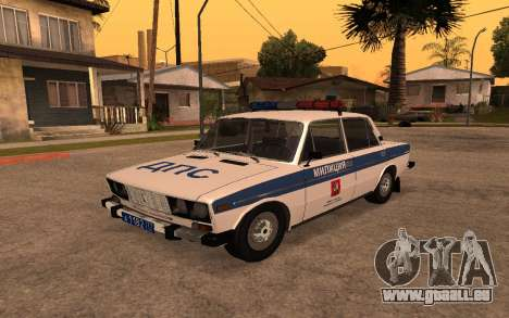 VAZ 2106 DPS für GTA San Andreas