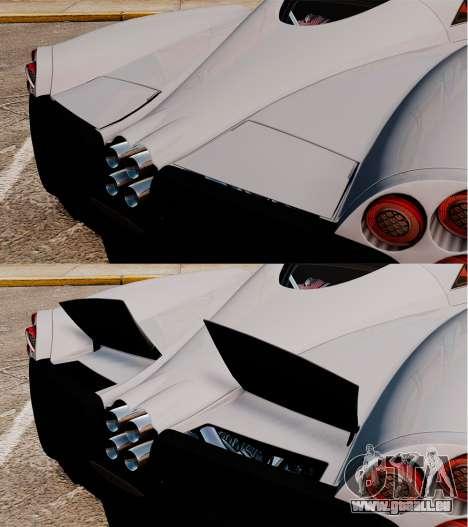 Pagani Huyara [EPM] pour le moteur de GTA 4