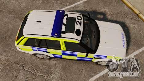 Range Rover Sport Metropolitan Police [ELS] pour GTA 4 est un droit