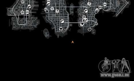 Lage von Shibuya für GTA 4 Zehntel Screenshot