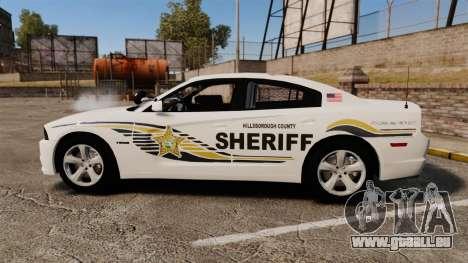 Dodge Charger RT 2012 Slicktop Police [ELS] für GTA 4 linke Ansicht