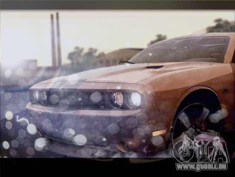 Dodge Challenger SRT8 2012 HEMI für GTA San Andreas Innenansicht