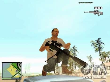 L115A3 Sniper Rifle für GTA San Andreas