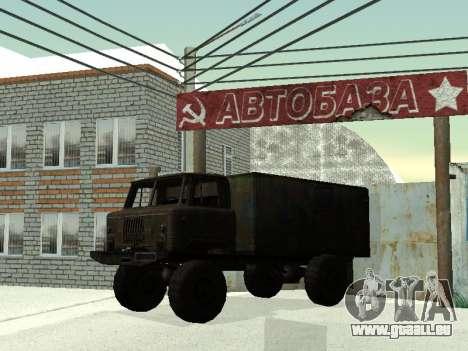 GAZ 66 für GTA San Andreas obere Ansicht