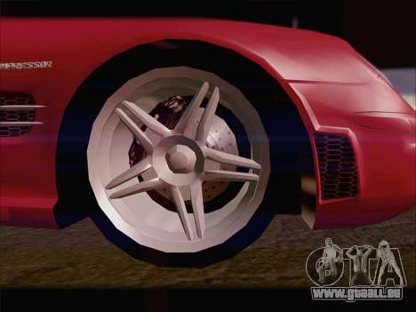 Mercedes SL500 v2 für GTA San Andreas rechten Ansicht