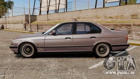 BMW M5 E34 für GTA 4 linke Ansicht